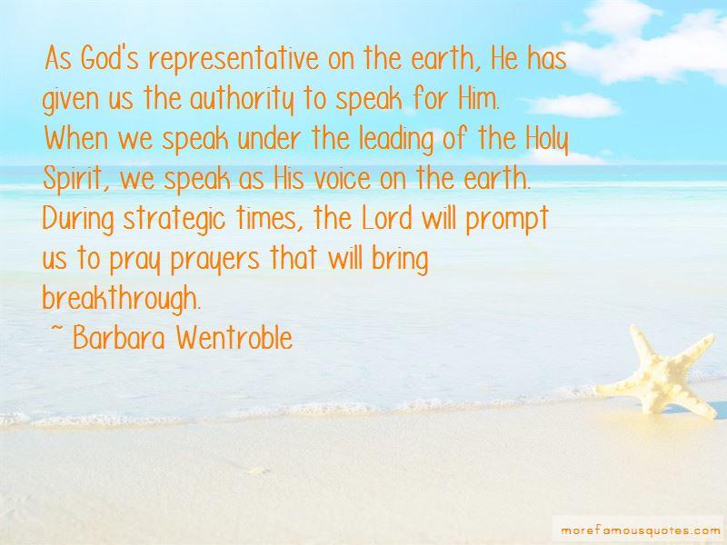 Barbara Wentroble Quotes
