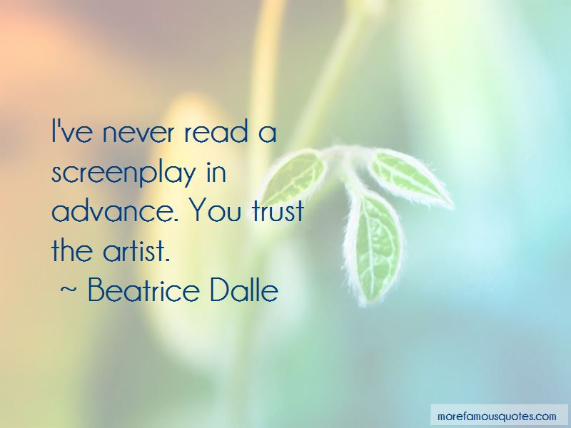 Beatrice Dalle Quotes Pictures 4