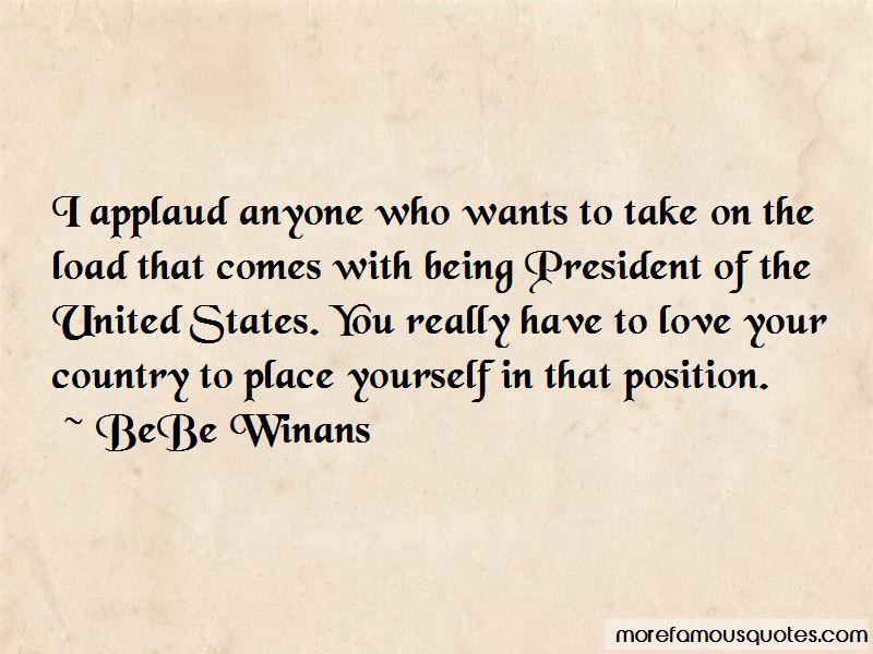 BeBe Winans Quotes