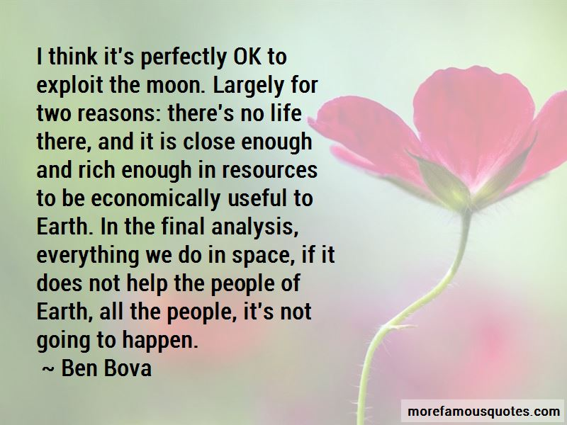 Ben Bova Quotes Pictures 2