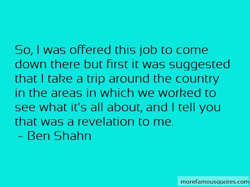 Ben Shahn Quotes Pictures 2