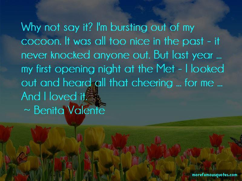 Benita Valente Quotes Pictures 2