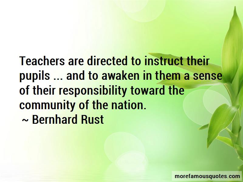 Bernhard Rust Quotes