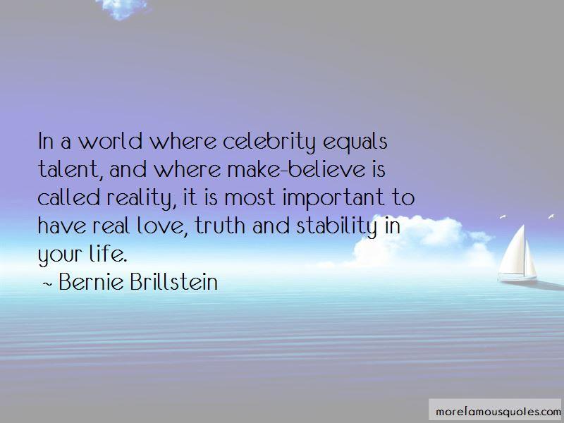 Bernie Brillstein Quotes