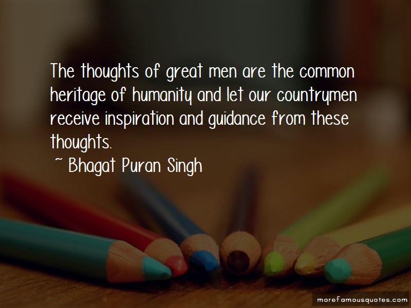 Bhagat Puran Singh Quotes