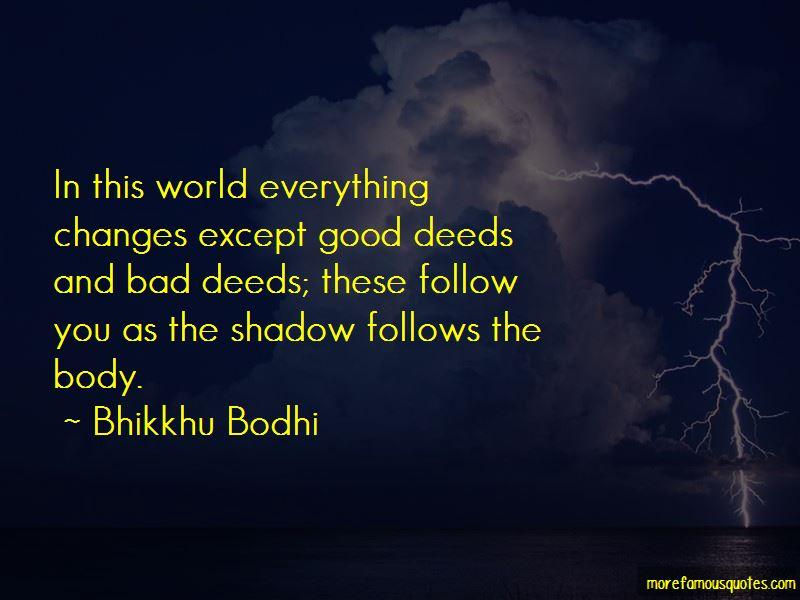 Bhikkhu Bodhi Quotes Pictures 3