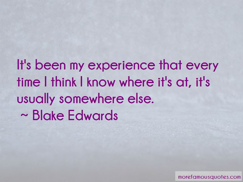 Blake Edwards Quotes Pictures 4