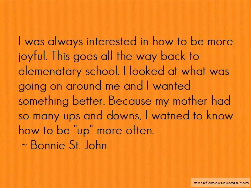 Bonnie St. John Quotes Pictures 2