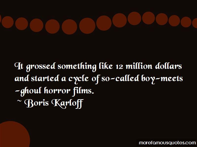 Boris Karloff Quotes