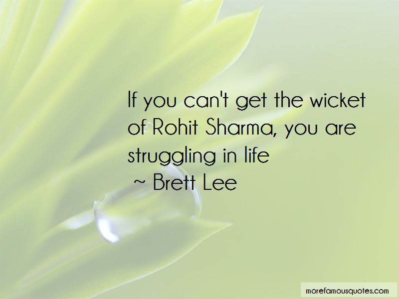 Brett Lee Quotes Pictures 2