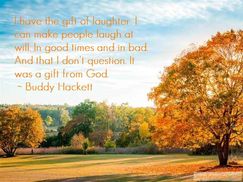 Buddy Hackett Quotes Pictures 2