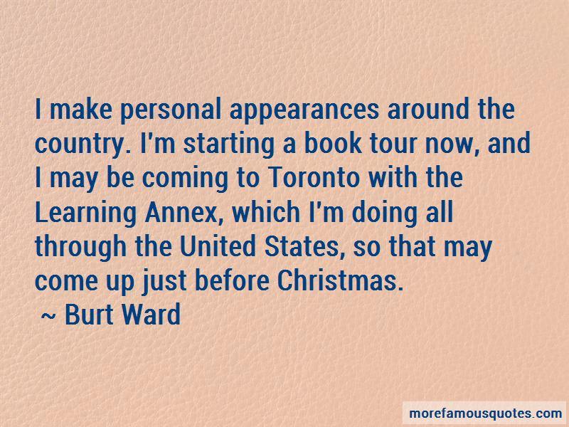 Burt Ward Quotes Pictures 2