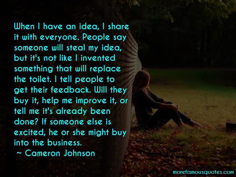 Cameron Johnson Quotes