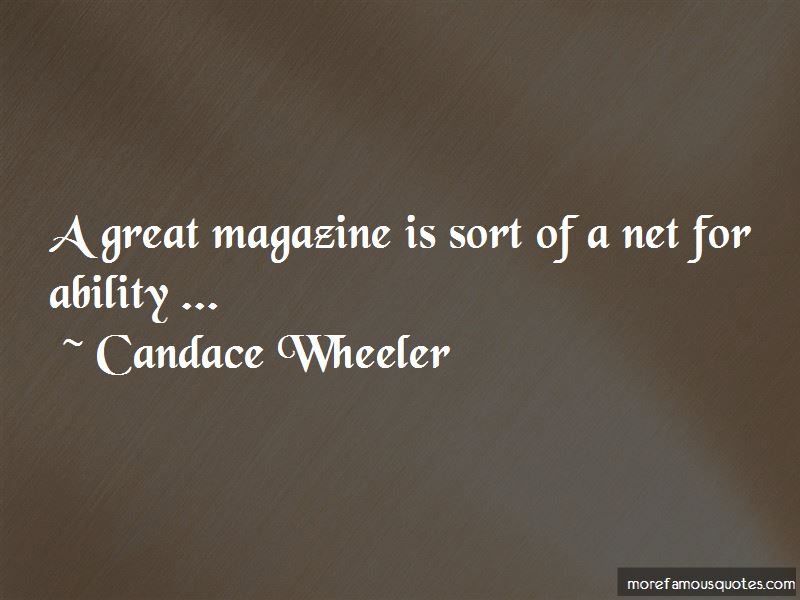 Candace Wheeler Quotes Pictures 4