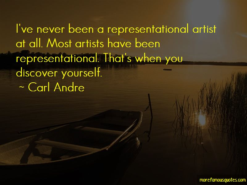 Carl Andre Quotes Pictures 2