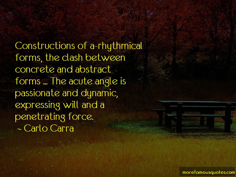 Carlo Carra Quotes Pictures 2