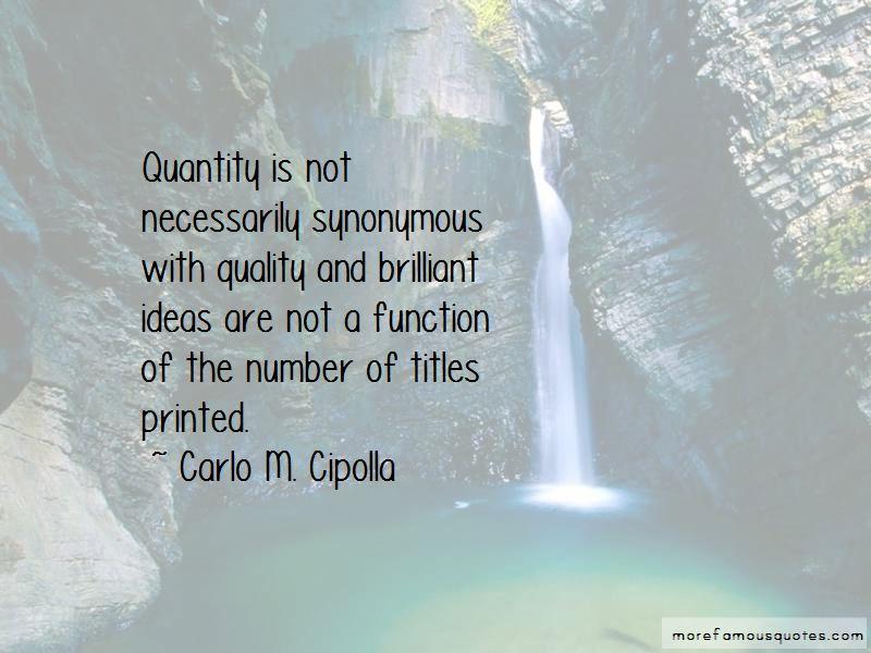Carlo M. Cipolla Quotes Pictures 3