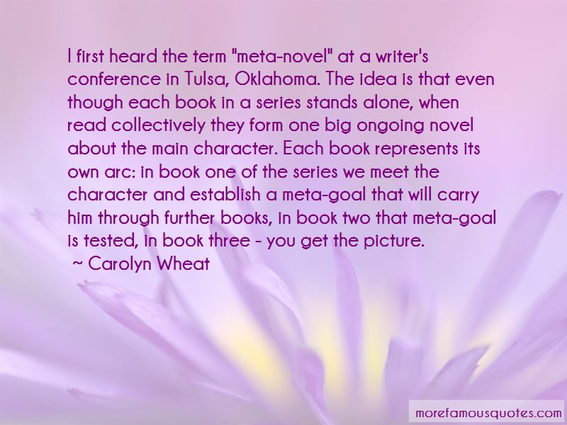 Carolyn Wheat Quotes Pictures 3