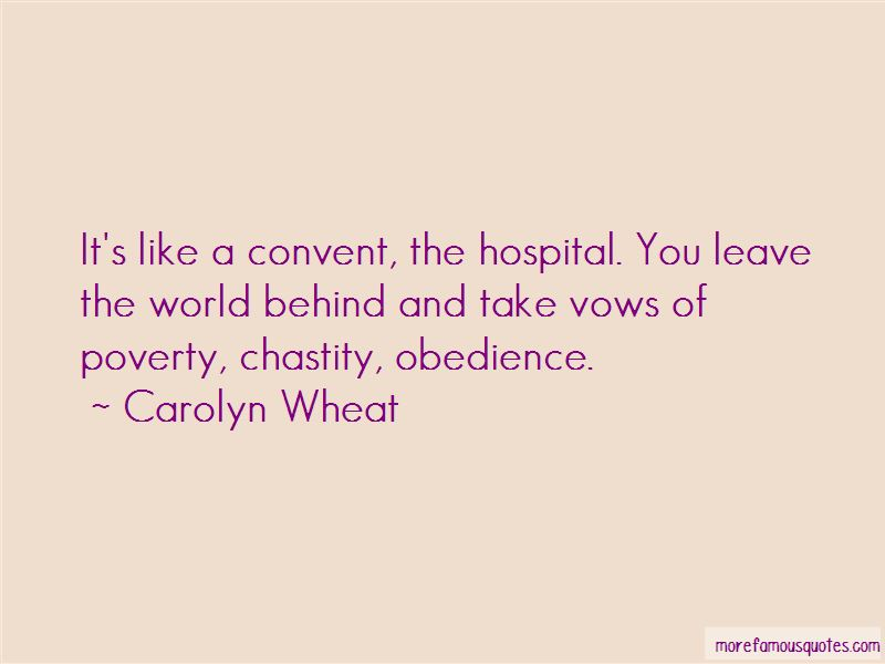 Carolyn Wheat Quotes