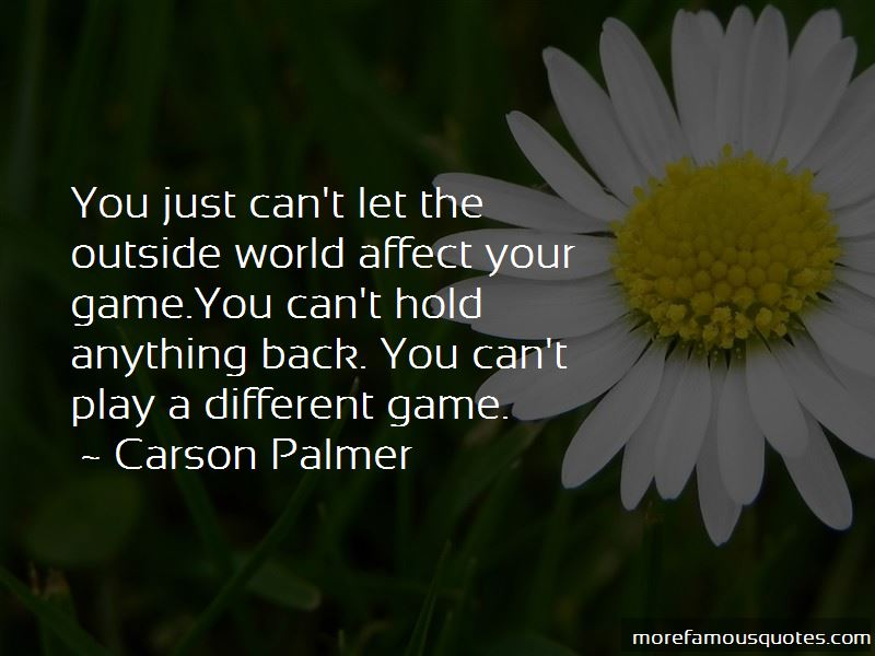 Carson Palmer Quotes Pictures 2