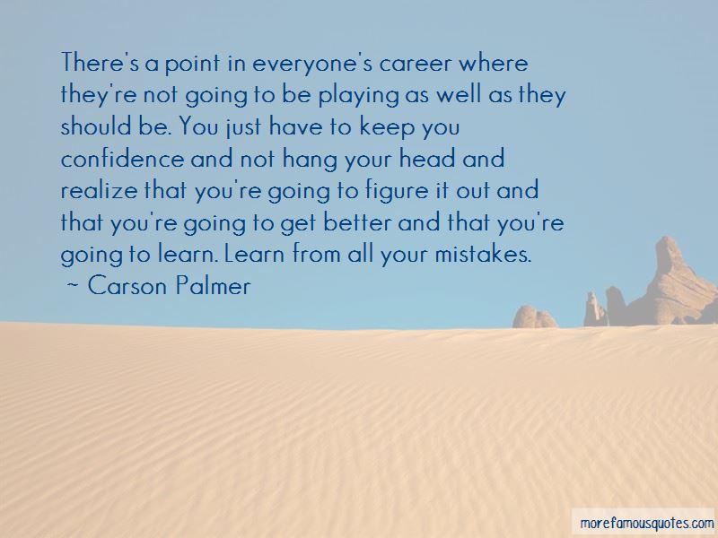 Carson Palmer Quotes
