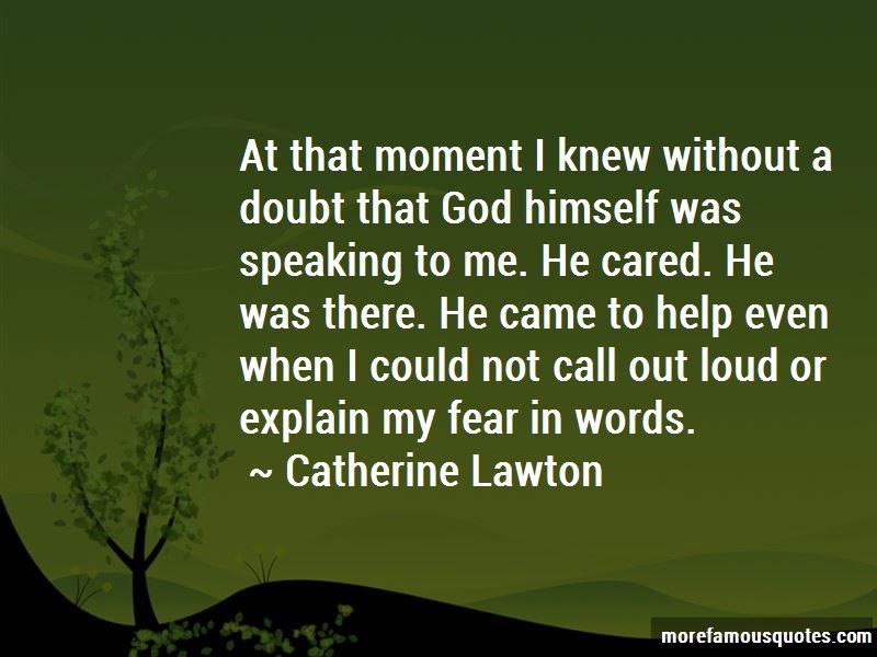 Catherine Lawton Quotes