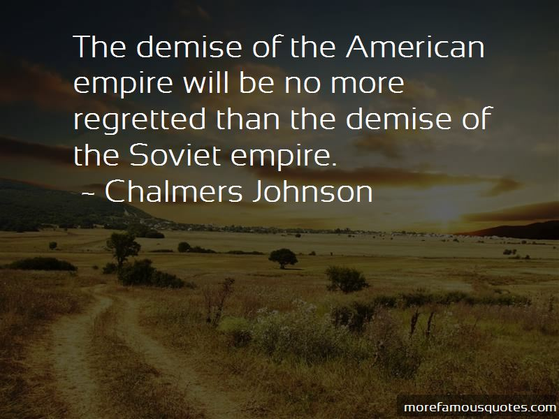 Chalmers Johnson Quotes Pictures 3