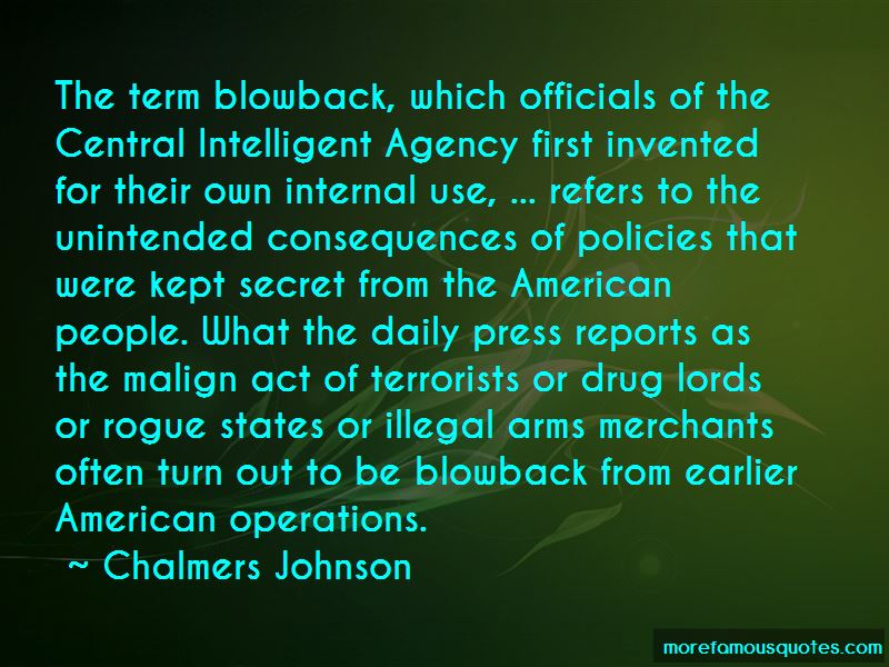 Chalmers Johnson Quotes Pictures 4