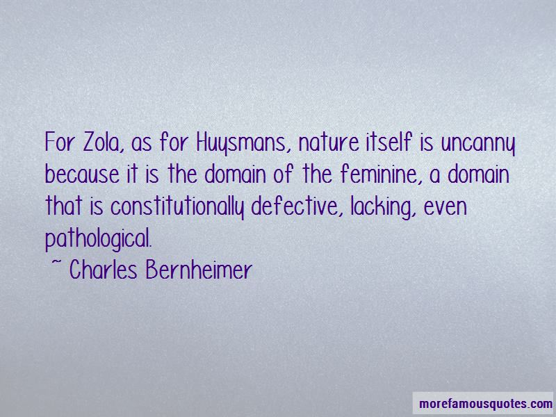 Charles Bernheimer Quotes