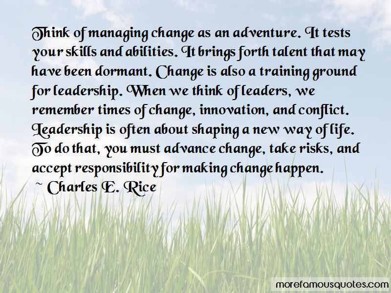 Charles E. Rice Quotes
