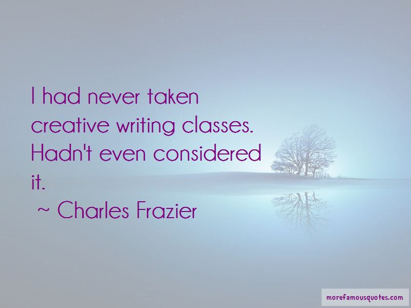 Charles Frazier Quotes Pictures 2