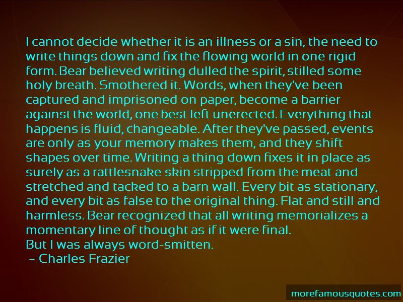 Charles Frazier Quotes Pictures 4