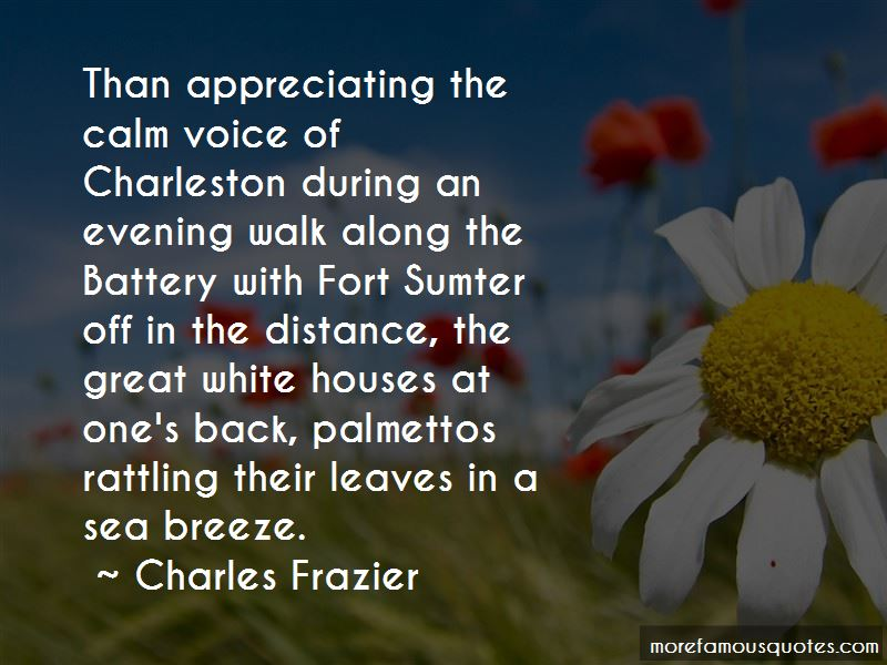Charles Frazier Quotes