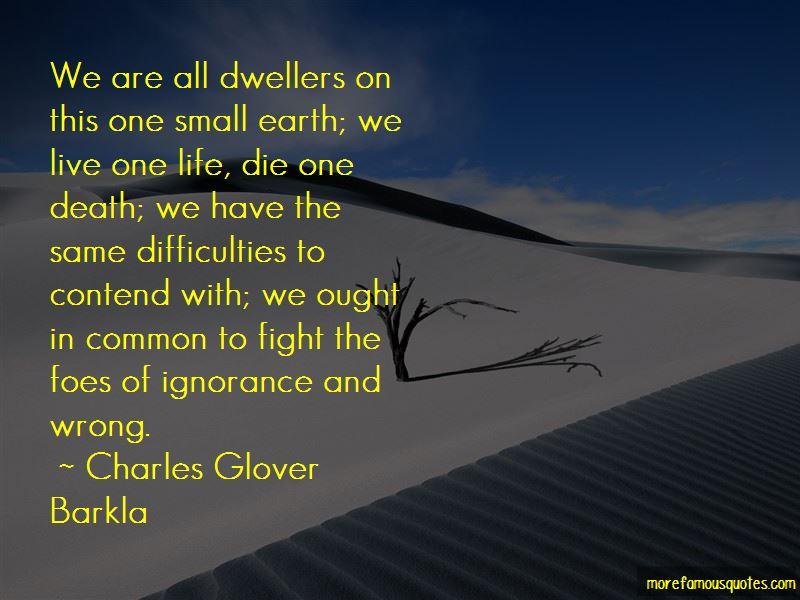 Charles Glover Barkla Quotes