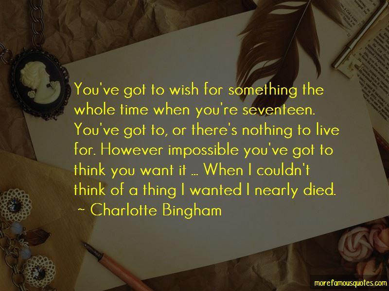 Charlotte Bingham Quotes Pictures 2