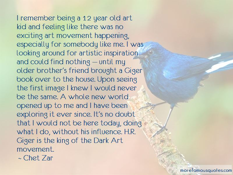 Chet Zar Quotes