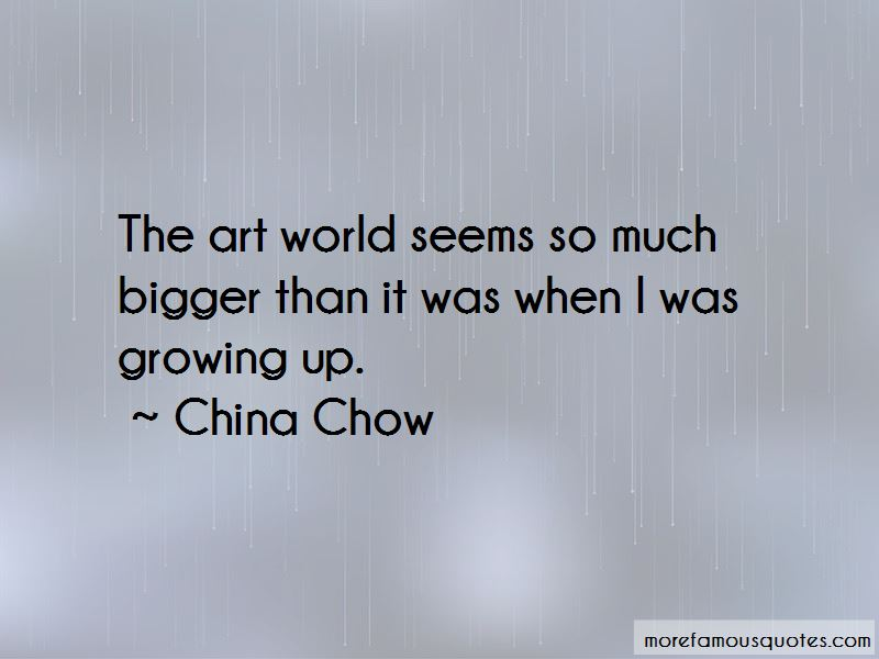 China Chow Quotes