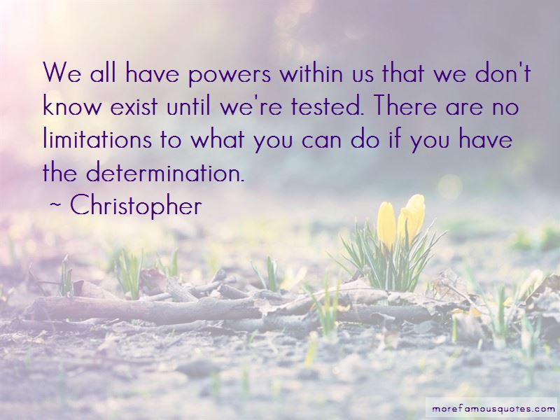 Christopher Quotes