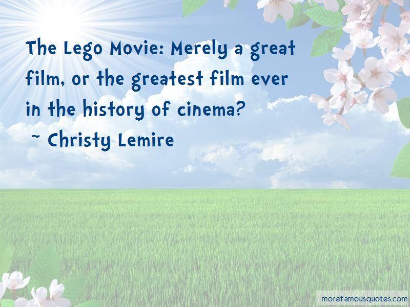 Christy Lemire Quotes
