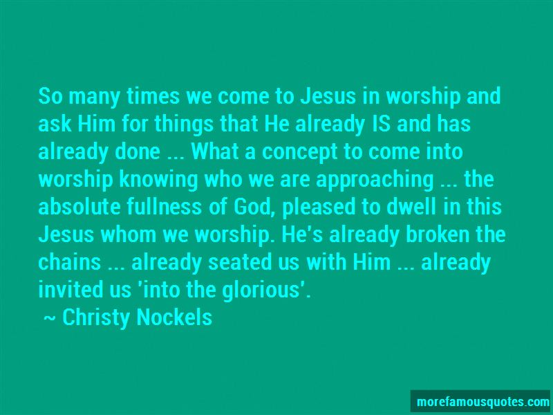 Christy Nockels Quotes