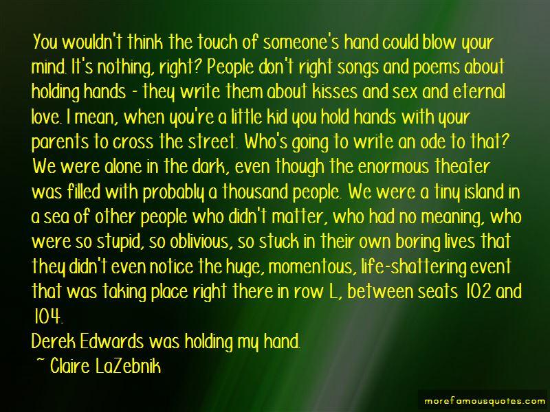 Claire LaZebnik Quotes Pictures 2