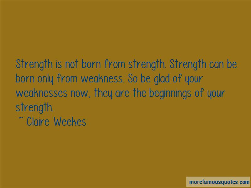 Claire Weekes Quotes