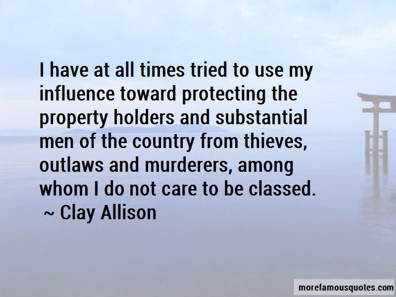 Clay Allison Quotes