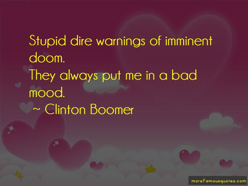 Clinton Boomer Quotes Pictures 2