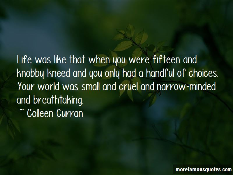 Colleen Curran Quotes