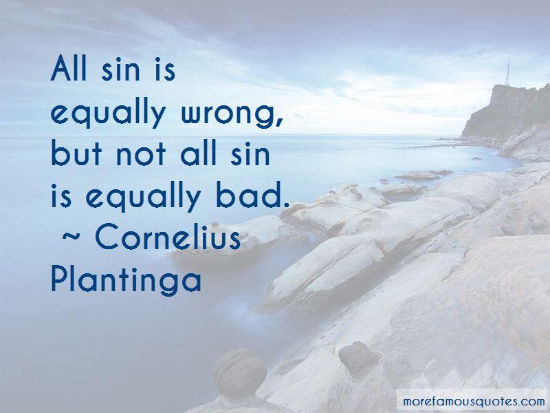 Cornelius Plantinga Quotes Pictures 3