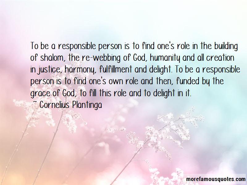 Cornelius Plantinga Quotes