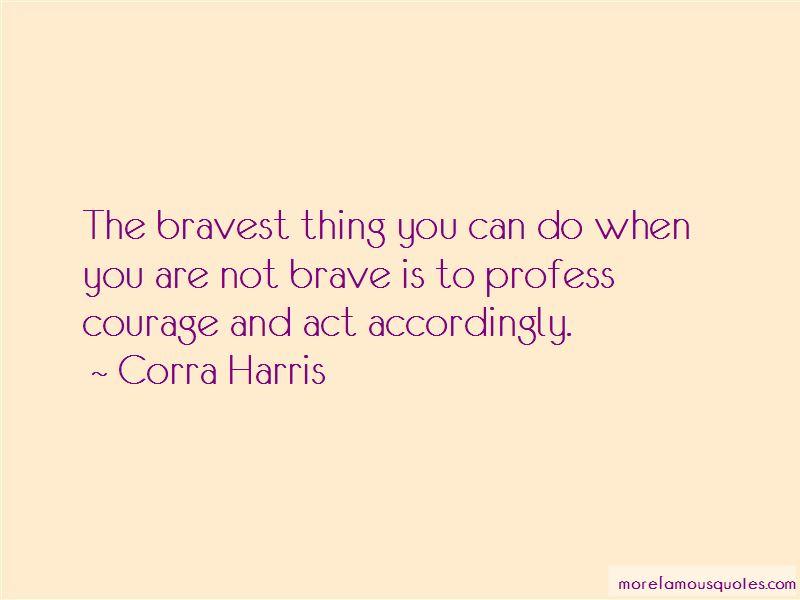 Corra Harris Quotes