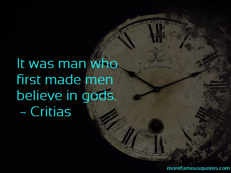 Critias Quotes