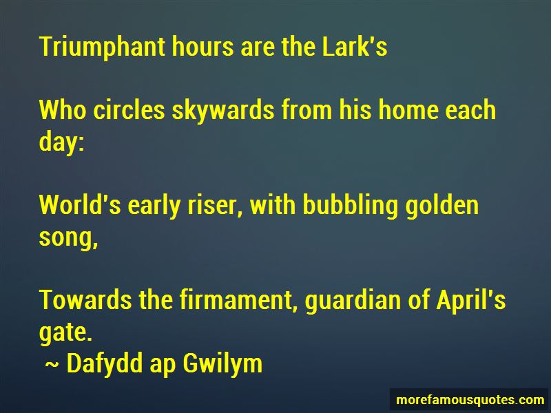 Dafydd Ap Gwilym Quotes Pictures 2